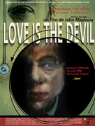 Love Is the Devil: Study for a Portrait of Francis Bacon - French Movie Poster (xs thumbnail)