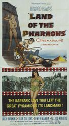 Land of the Pharaohs - Movie Poster (xs thumbnail)