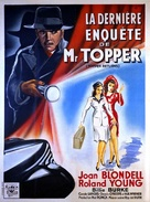 Topper Returns - French Movie Poster (xs thumbnail)