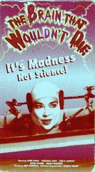 The Brain That Wouldn't Die - VHS cover (xs thumbnail)