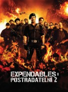 The Expendables 2 - Czech Movie Poster (xs thumbnail)