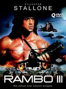Rambo III - Polish Movie Cover (xs thumbnail)
