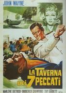 Seven Sinners - Italian Movie Poster (xs thumbnail)
