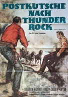 Stage to Thunder Rock - German Movie Poster (xs thumbnail)