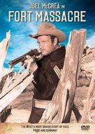 Fort Massacre - British DVD cover (xs thumbnail)