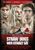 Straw Dogs - German Movie Poster (xs thumbnail)