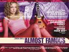 Almost Famous - British Movie Poster (xs thumbnail)