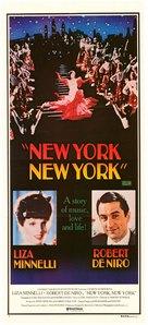 New York, New York - Australian Movie Poster (xs thumbnail)