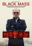 Black Mass - German Movie Poster (xs thumbnail)