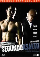 Segundo asalto - Spanish DVD cover (xs thumbnail)