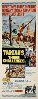 Tarzan's Three Challenges - Movie Poster (xs thumbnail)
