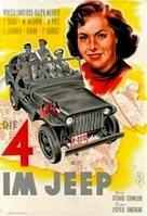 Die Vier im Jeep - German Movie Poster (xs thumbnail)