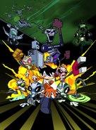 """""""Super Robot Monkey Team Hyperforce Go!"""" - poster (xs thumbnail)"""