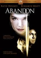 Abandon - DVD cover (xs thumbnail)