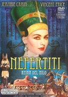 Nefertiti, regina del Nilo - Spanish Movie Cover (xs thumbnail)