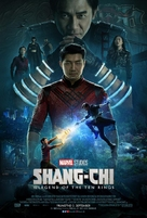 Shang-Chi and the Legend of the Ten Rings - Icelandic Movie Poster (xs thumbnail)