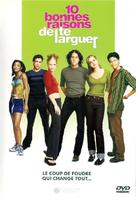 10 Things I Hate About You - French DVD movie cover (xs thumbnail)