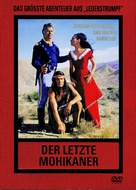 Der letzte Mohikaner - German DVD movie cover (xs thumbnail)
