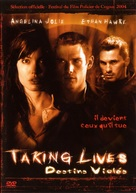 Taking Lives - French Movie Cover (xs thumbnail)