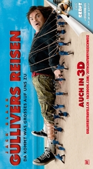 Gulliver's Travels - Swiss Movie Poster (xs thumbnail)