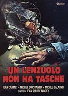 No Pockets in a Shroud - Italian DVD movie cover (xs thumbnail)