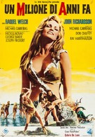 One Million Years B.C. - Italian Movie Poster (xs thumbnail)