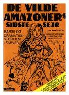 Le amazzoni - donne d'amore e di guerra - Danish Movie Poster (xs thumbnail)
