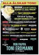 Toni Erdmann - Swedish Movie Poster (xs thumbnail)