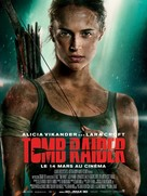 Tomb Raider - French Movie Poster (xs thumbnail)