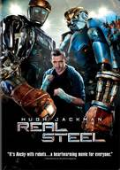 Real Steel - DVD movie cover (xs thumbnail)