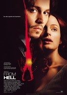 From Hell - German Movie Poster (xs thumbnail)