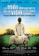 Lo más importante de la vida es no haber muerto - Spanish Movie Poster (xs thumbnail)