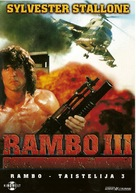 Rambo III - Finnish Movie Cover (xs thumbnail)