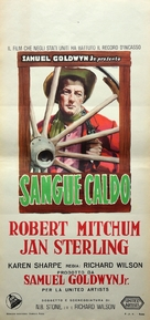 Man with the Gun - Italian Movie Poster (xs thumbnail)