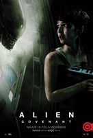 Alien: Covenant - Hungarian Movie Poster (xs thumbnail)