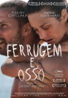 De rouille et d'os - Portuguese Movie Poster (xs thumbnail)