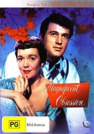 Magnificent Obsession - Australian DVD cover (xs thumbnail)