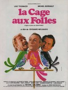 Cage aux folles, La - French Movie Poster (xs thumbnail)