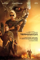 Terminator: Dark Fate - French Movie Poster (xs thumbnail)
