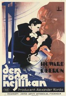 The Scarlet Pimpernel - Swedish Movie Poster (xs thumbnail)