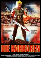 The Conqueror - German Movie Poster (xs thumbnail)