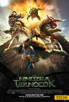 Teenage Mutant Ninja Turtles - Hungarian Movie Poster (xs thumbnail)