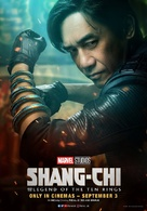 Shang-Chi and the Legend of the Ten Rings - British Movie Poster (xs thumbnail)