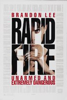Rapid Fire - Movie Poster (xs thumbnail)