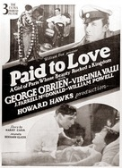 Paid to Love - Movie Poster (xs thumbnail)