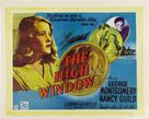 The Brasher Doubloon - British Movie Poster (xs thumbnail)