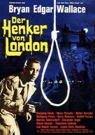 Der Henker von London - German Movie Poster (xs thumbnail)
