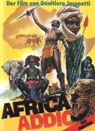 Africa addio - German DVD cover (xs thumbnail)