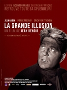 La grande illusion - French Movie Poster (xs thumbnail)