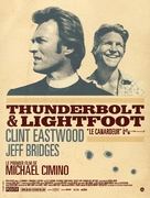 Thunderbolt And Lightfoot - French Movie Poster (xs thumbnail)